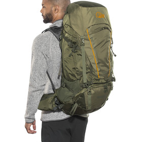 Lowe Alpine Diran 55:65 Backpack Men moss / dark olive